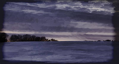 Winter Blues Print by Thomas Young
