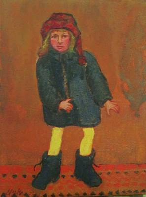 Painting - Winter Boots by Debbie Clarke