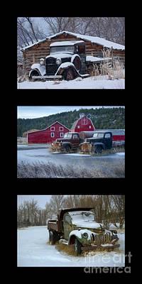 Photograph - Winter Boys by Idaho Scenic Images Linda Lantzy