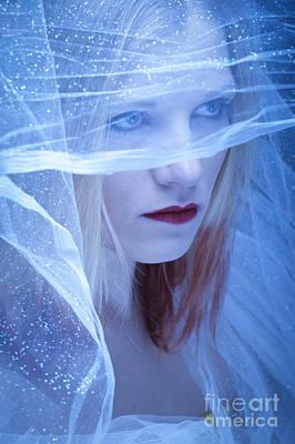 Lips Digital Art - Winter Bride by Donald Davis