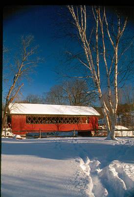 Photograph - Winter Bridge by Paul Miller