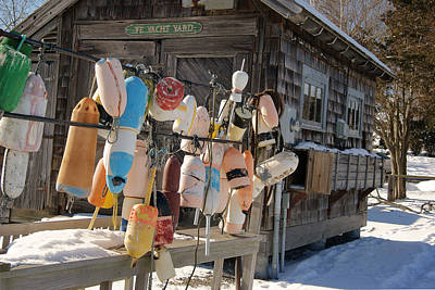 Photograph - Winter Buoys by Margie Avellino