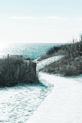 Photograph - Winter By The Sea by Allan Millora