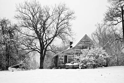 Photograph - Winter Cabin by Robert Camp