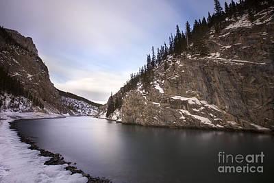Snow Banks Photograph - Winter Calm by Evelina Kremsdorf
