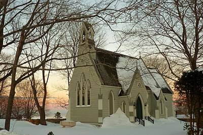 Photograph - Winter Chapel by Elaine Franklin