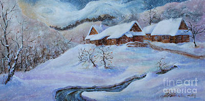 Painting - Winter Charm by Marta Styk