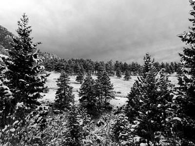 Photograph - Winter Chautauqua Park Boulder Colorado by Thomas Samida