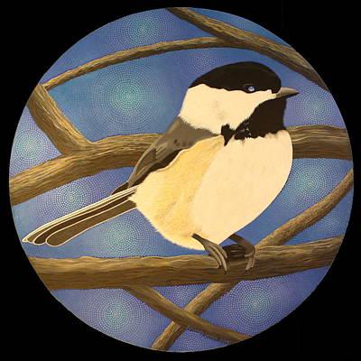Painting - Winter Chickadee by Amanda  Lynne