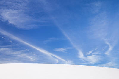 Photograph - Winter Cloudscape by Alan L Graham