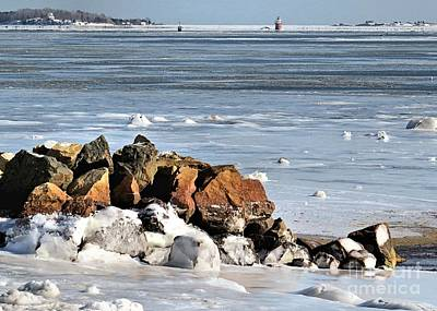 Photograph - Winter Coastline by Janice Drew