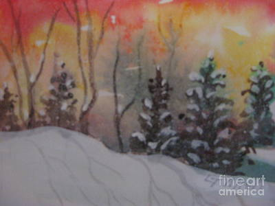 Painting - Winter Cold by Gretchen Allen