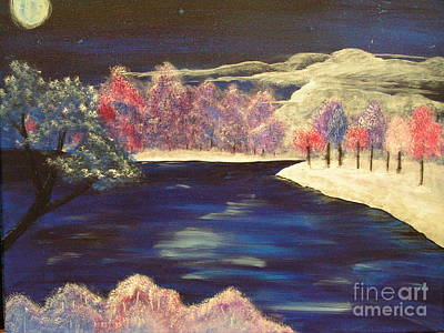 Painting - Winter Colors by Kami Catherman