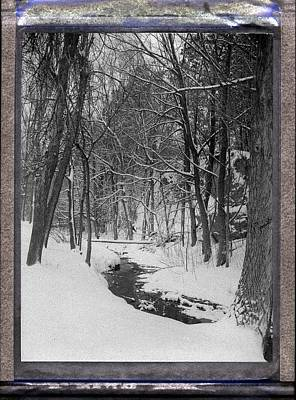 Photograph - Winter Creek by HW Kateley