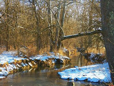 Photograph - Winter Creek by Joyce Kimble Smith