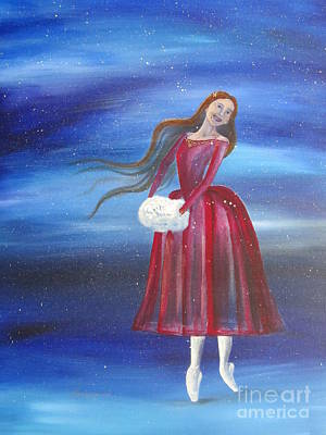 Winter Dancer3 Art Print by Laurianna Taylor