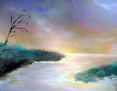 Winter Dawn 1 Art Print by Alys Caviness-Gober
