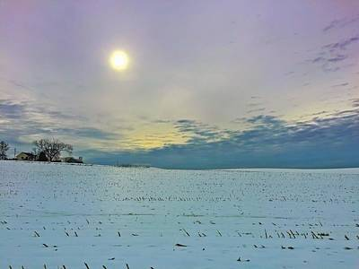 Photograph - Winter Dawn by Chris Montcalmo