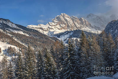 Gardena Photograph - Winter Dolomites by Martin Capek