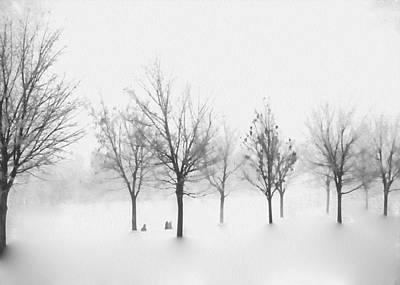 Winter Dream Art Print by Kathy Bassett