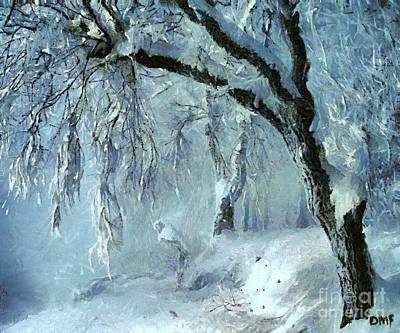 Winter Dreams Art Print