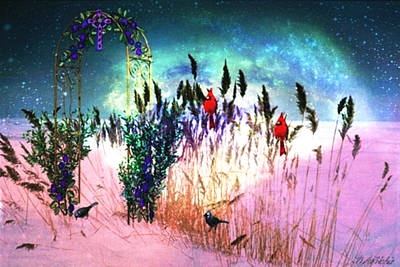Digital Art - Winter Dreams by Mary Anne Ritchie