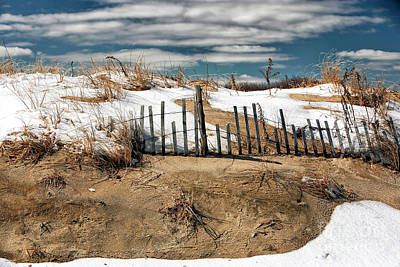 Photograph - Winter Dune by John Rizzuto