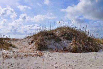 Photograph - Winter Dune - Wrightsville Beach by Paulette B Wright
