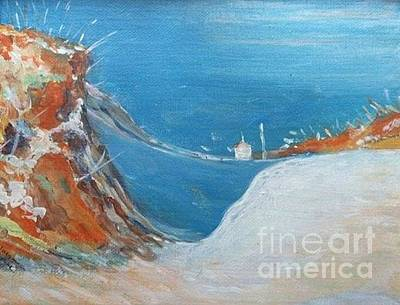 Painting - Winter Dunes At Plum Island by Jacqui Hawk