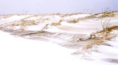Winter Dunes Art Print by William Walker
