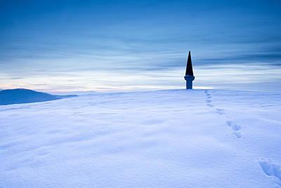 Christmas Christopher And Amanda Elwell - Winter dusk by Ian Middleton