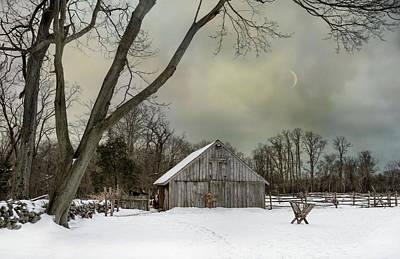Photograph - Winter Dusk by Robin-Lee Vieira