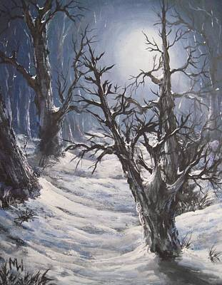 Painting - Winter Eve by Megan Walsh