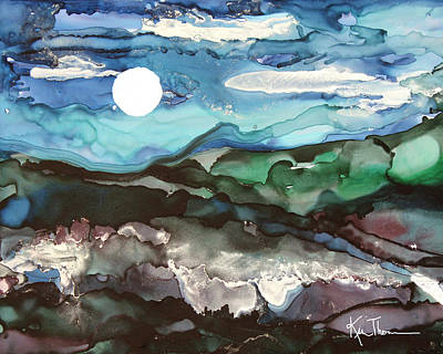 Painting - Winter Evening by Kim Thompson