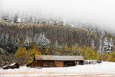 Photograph - Winter Farm by Chuck Jason