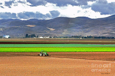 Winter Farm In California Art Print