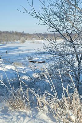 Photograph - Winter Farm Iv by Jessie Parker