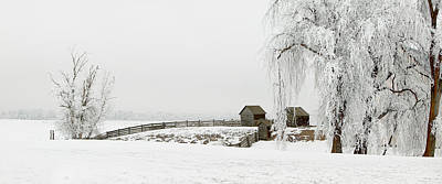Photograph - Winter Farm by Mary Jo Allen
