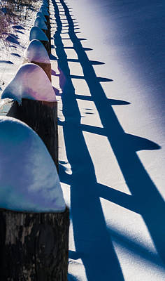 Photograph - Winter Fence  by Douglas Pike