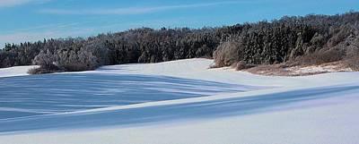 Photograph - Winter Fields by Douglas Pike