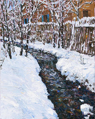 Painting - Winter Flowing by Steven Boone