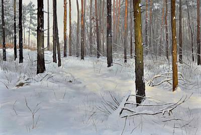 ''winter Forest''  Original by Kostadin Zhikov