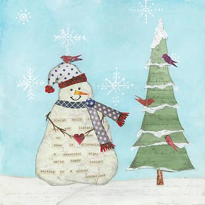 Winter Fun IIi Art Print by Courtney Prahl