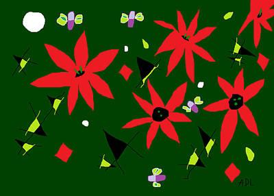 Painting - Winter Garden by Anita Dale Livaditis