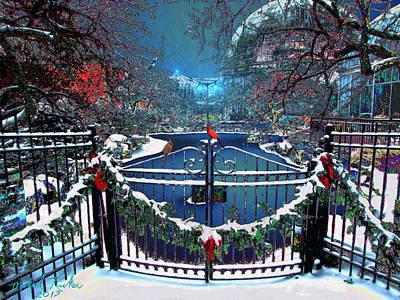 Winter Garden Original by Michael Rucker