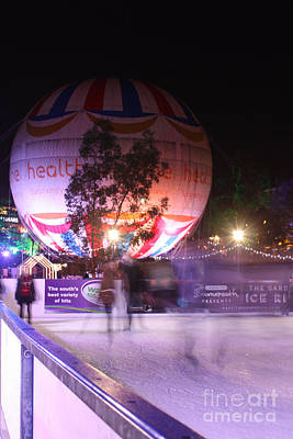Photograph - Winter Gardens Ice Rink And Balloon Bournemouth by Terri Waters