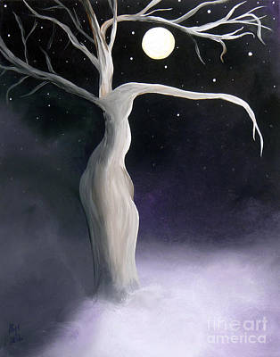 Winter Goddess Print by Alys Caviness-Gober