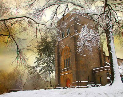 Photograph - Winter Gothic by Jessica Jenney