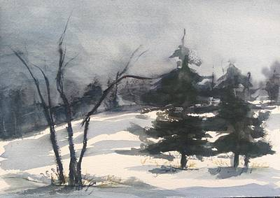 Painting - Winter Grey by Pat Steiner