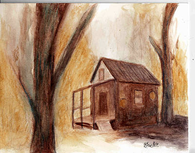 Painting - Winter Hideaway by Andrea Friedell